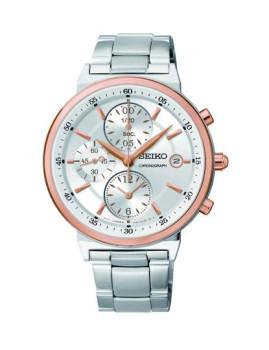 Relógio Seiko Casual Lifestyle Quartz Prateado
