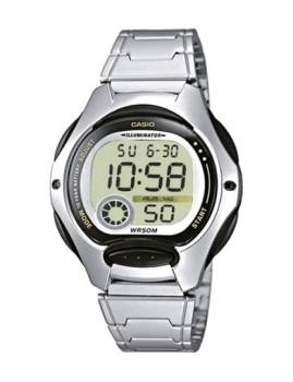Relógio Casio LW200D1A Prateado&Preto