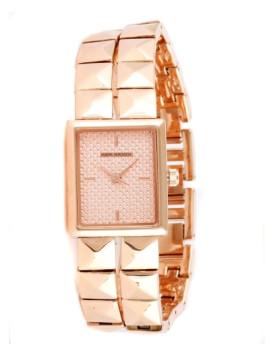 Relógio Mark Maddox Quadrado Dourado Rosa