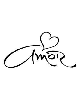 Vinil Decorativo 'Amor'