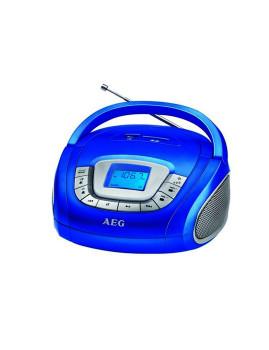 Rádio Portátil Azul Aeg