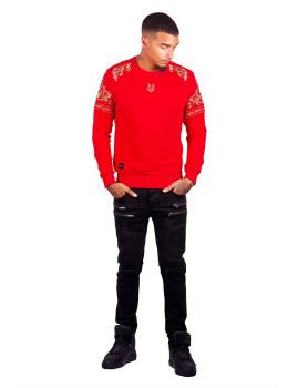 Sweatshirt George V Vermelho
