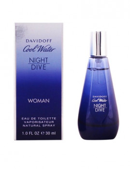 Perfume Senhora Davidoff Cool Water Night Dive Edt Vapo 30 Ml
