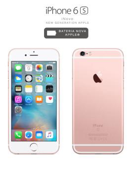 iNOVO - New Generation Apple! iPhone 6S 64 GB rose