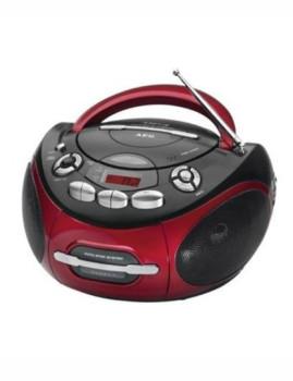 Rádio portátil com Cassete/CD/MP3 Aeg