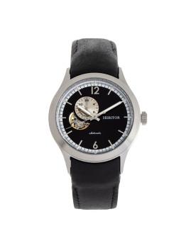 Relógio Heritor Automatic Antoine Prateado