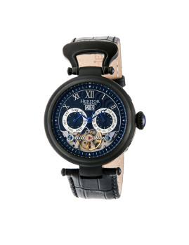Relógio Heritor Automatic Ganzi Preto