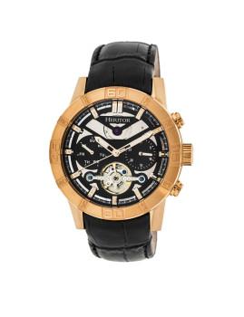 Relógio Heritor Automatic Hannibal Dourado Rosa