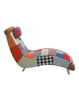 imagem de Chaise-Lounge Harper Patchwork Patchwork1