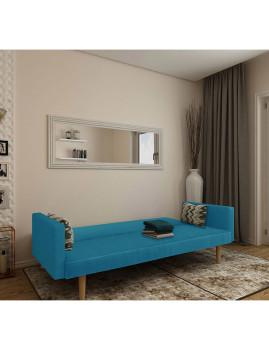 imagem de Sofa-Cama Cosmos Tecido Azul1