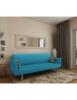 imagem de Sofa-Cama Cosmos Tecido Azul2