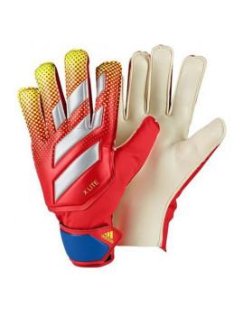 Luvas de Guarda-Redes Adidas X Lite Vermelho 9