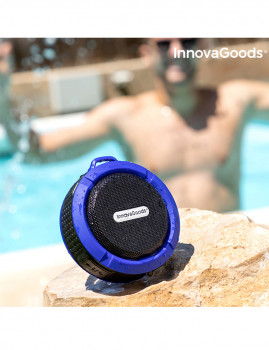 imagem de Coluna Bluetooth Sem Fios Portátil Waterproof DropSound 3