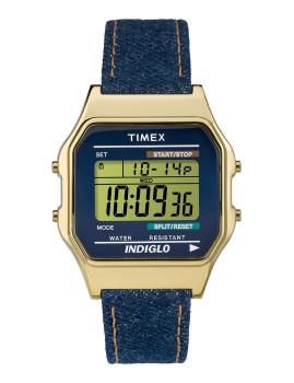 Relógio Timex TIX DIGITAL 80 Azul DENIM