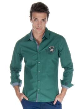 Camisa Giorgio di Mare Verde