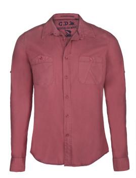 Camisa Giorgio di Mare Vermelha Clara