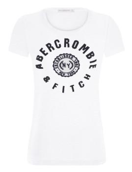 T-shirt Abercrombie & Fitch Senhora NY Cru Senhora