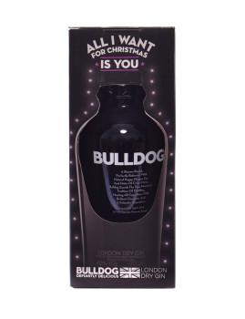 Pack All I Want 4 Christmas Gin Bulldog   A prenda ideal para um amante de Gin