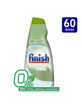 imagem de Finish Detergente Máquina Loiça Gel 0% 60 Doses1