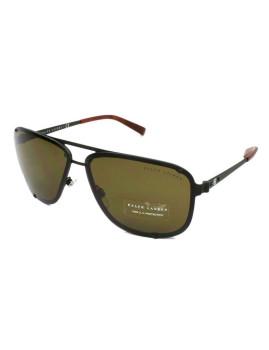 Óculos de Sol Ralph Lauren Homem Preto e Verde seco