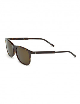 Óculos de Sol Montblanc Homem Havana Escuro e Castanho cinza