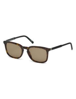 Óculos de Sol Montblanc Homem Havana Escuro e Preto