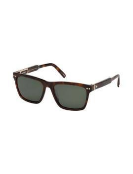 Óculos de Sol Montblanc Homem Havana e Verde