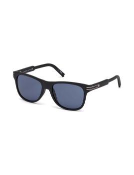 Óculos de Sol Montblanc Homem Preto e Azul