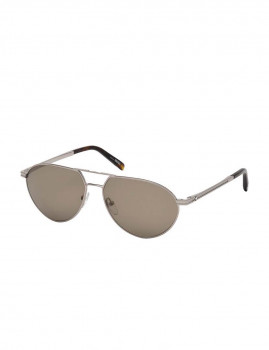 Óculos de Sol Montblanc Homem Prateado e Castanho