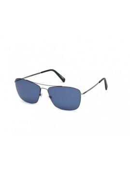 Óculos de Sol Montblanc Homem Cinza e Azul