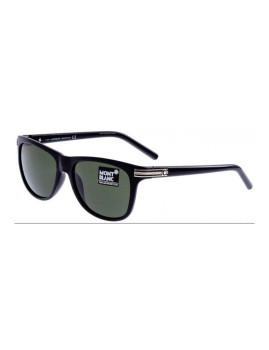 Óculos de Sol Montblanc Homem Preto, Dourado e Verde