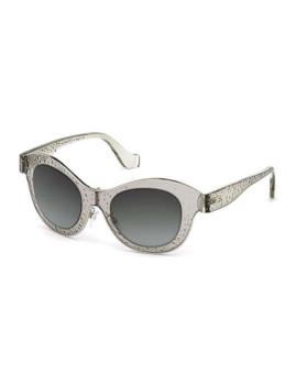 76c9a6e74b2ab Óculos de Sol Balenciaga Senhora Transparente ...