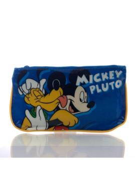 Estojo Plano Mickey e Pluto