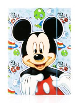 Capa c/Elástico Mickey