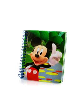 Mini bloco Mickey 9X11cms Azul