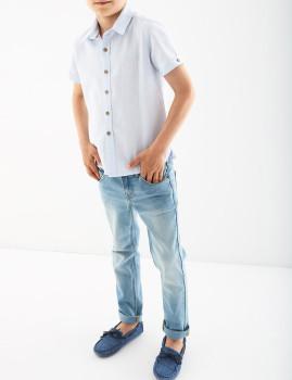 Camisa Menino Sacoor Brothers Azul Claro