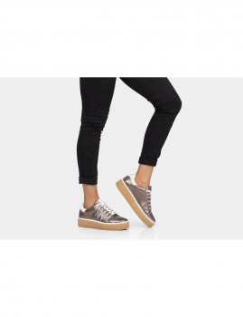 Sneakers Notyet Fighter  Senhora  Bronze