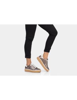 Sneakers Notyet Fighter  Senhora  Bronze