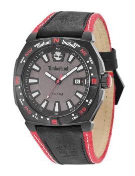 Relógio Timberland Rindge Preto e Vermelho