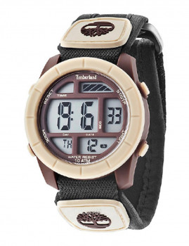 Relógio Timberland Duston Castanho e Bege