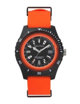 Relógio Nautica Homem Laranja