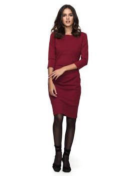 Vestido Senhora Javier Larrainzar Vermelho
