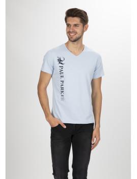 T-Shirt Paul Parker Azul Claro