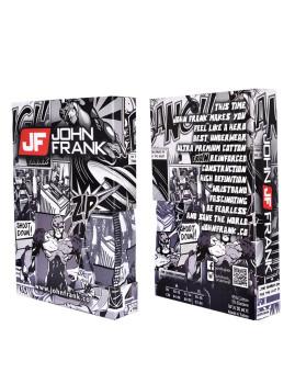 Boxer John Frank Impressão Digital Multicor