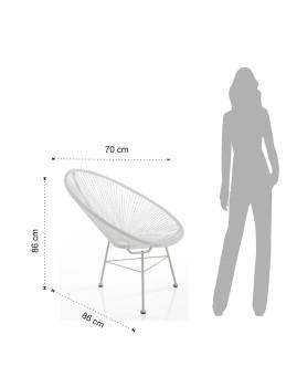 imagem de Cadeira Numana Branco4