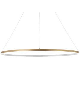 imagem de Candeeiro de Suspensão Oval Ring Dourado1