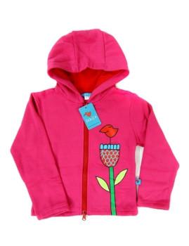 Camisola De Menina Loving Flower Fuchsia