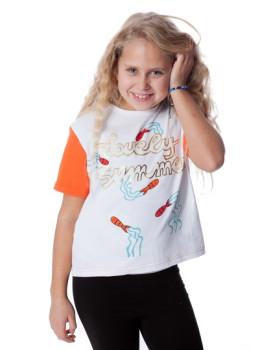 T-Shirt De Menino Peces Branco