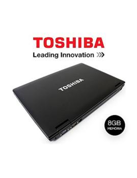 """Portátil Toshiba Tecra com Processador i7 com 8GB de Memória! Placa Gráfica Dedicada, Ecrã Generoso de 15,6"""" e Windows 10Pro!"""