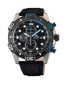 Relógio Orient Sporty Prateado  e Preto